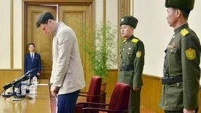 Amerykański student w więzieniu za kradzież w hotelu w Korei Północnej