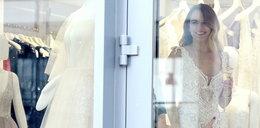 Rafał Maślak kupuje suknię ślubną