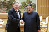 Pompeo Kim foto  Korean Central News AgencyKorea News Service via AP (5)