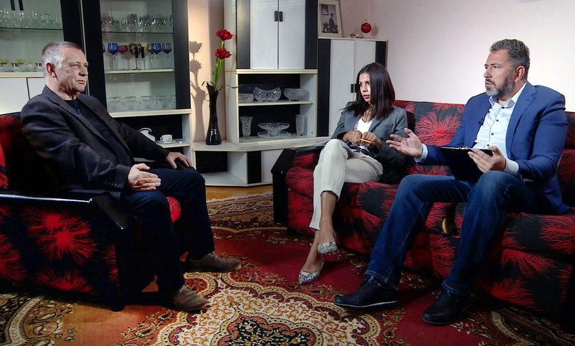 Banaś gościł dziennikarzy w domu w Czchowie