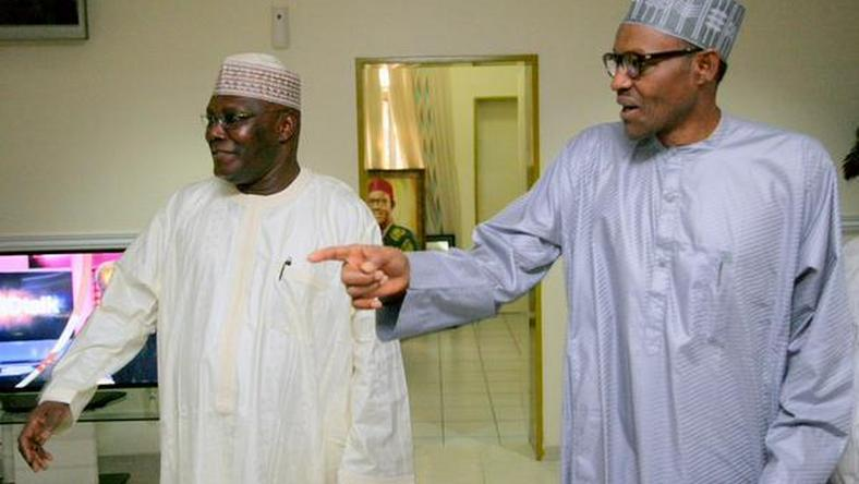 The two leading candidates in the 2019 Presidential election, President Muhammadu Buhari and Atiku Abubakar