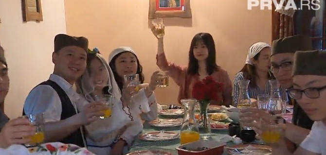 Kinezi uživaju u tradicionalnim običajima na Zlatiboru