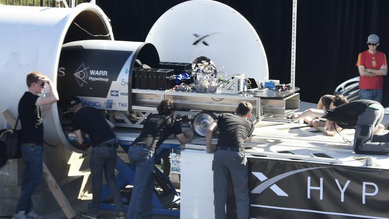 Testowy odcinek Hyperloop One gotowy do użytku