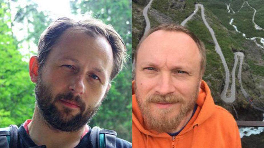 Projekt 59rzek.pl, Łukasz Zboralski (P) i Maciej Marynowski