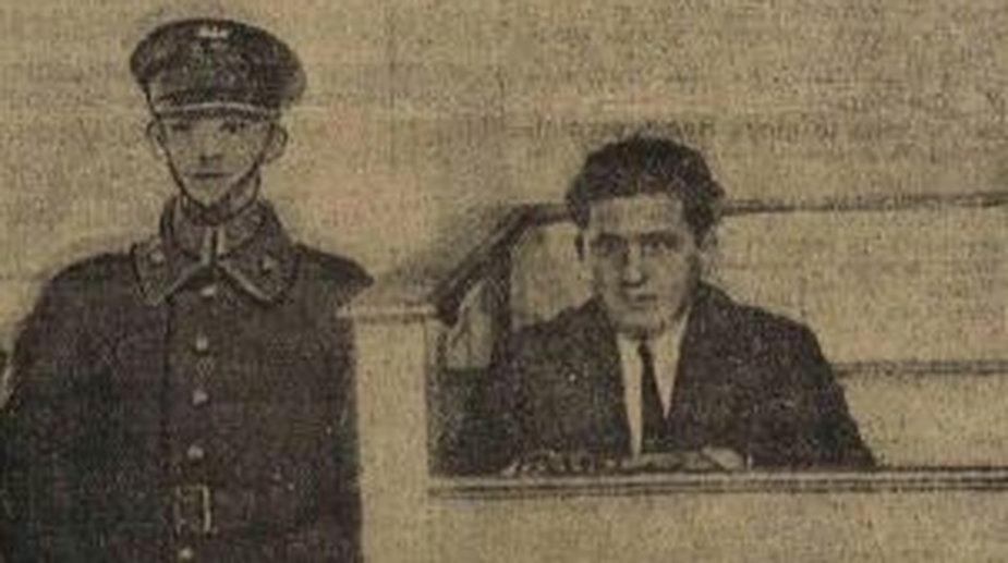 """""""Ślepy Maks"""" na ławie oskarżonych w 1930 r."""