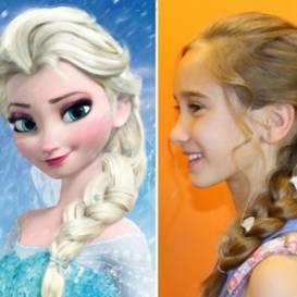 Fryzura Dla Twojej Córeczki Jak Księżniczka Elsa Z Krainy Lodu