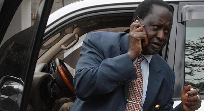 """How Raila chased out fake gold scammers after """"Matiang'i call"""