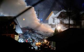 Prokuratura: Wybuch gazu w Szczyrku miał związek z pracami budowlanymi