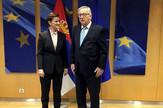 Ana Brnabić, Žan Klod Junker, Tanjug, Kabinet predesednice vlade Srbije