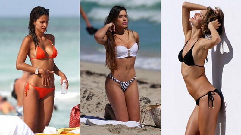 Seksowne brazylijskie modelki w bikini