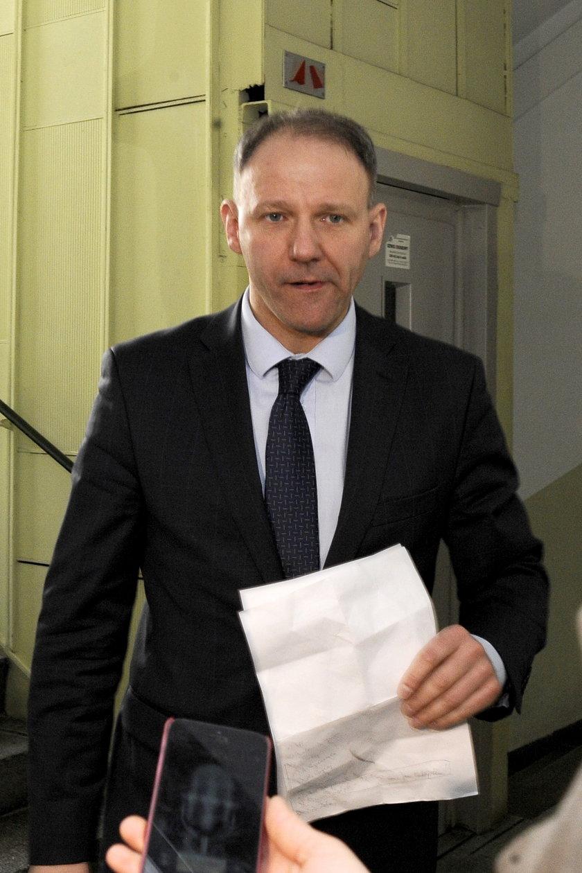 Jacek Protasiewicz, były europosełi szef dolnośląskiej PO