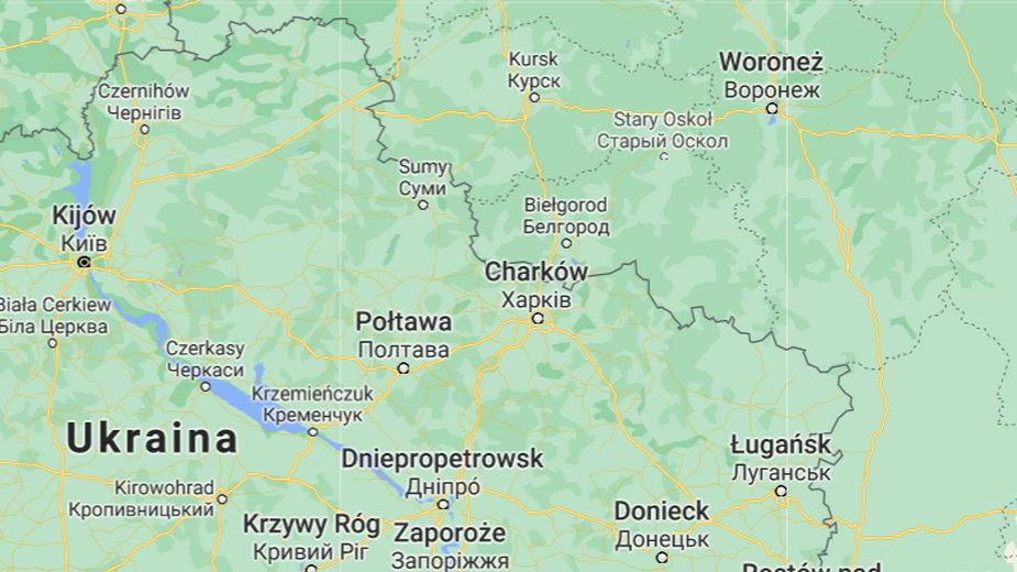 Strzelanina na granicy Rosji i Ukrainy