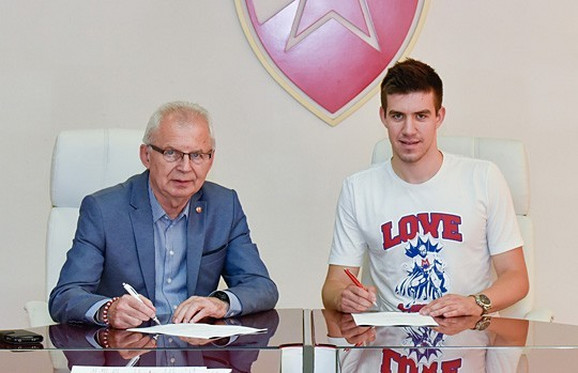 Andrija Luković potpisuje za Zvezdu
