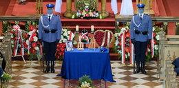 Pogrzeb policjanta z Raciborza. Ciszę przerwał krzyk matki. Padły słowa rozpaczliwego zwątpienia