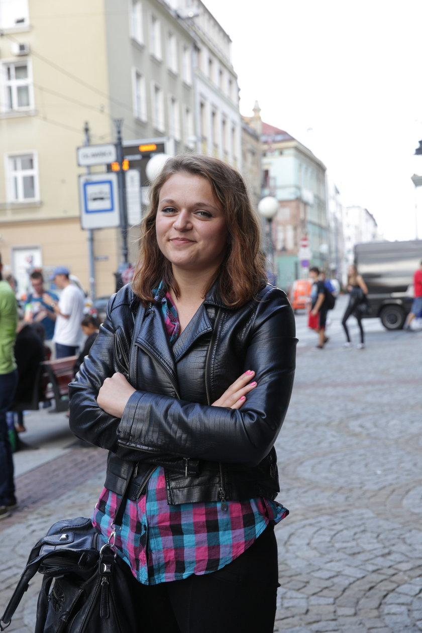 Katarzyna Skorek (24 l.), pasażerka z Wrocławia