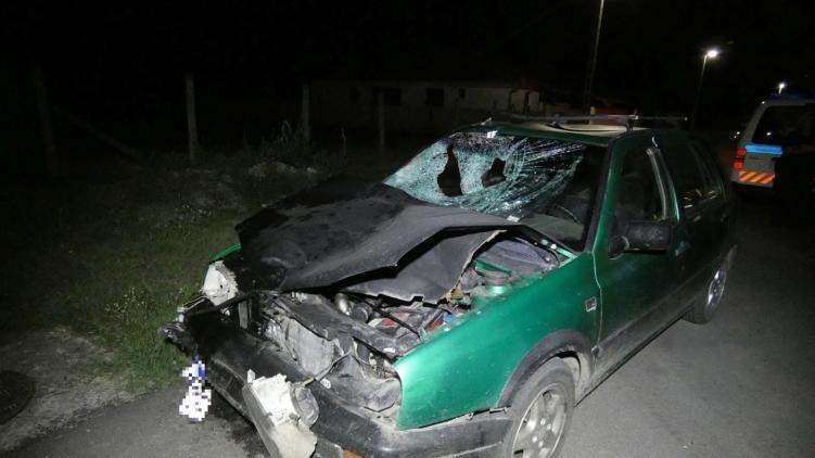 A sofőr elütött három gyalogost, majd megállás nélkül sorsára hagyta őket. / Fotó: police.hu
