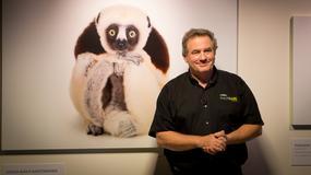 Fotograf ginących gatunków zwierząt odwiedził Polskę