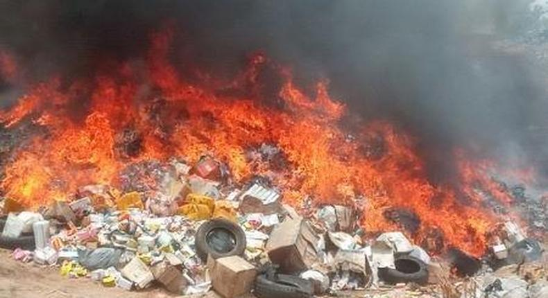 NAFDAC destroys N515.73m worth of unwholesome products in North East. [NAN]-
