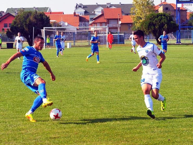 Aleksandar Glisic, FK Radnik Foto G Bobic