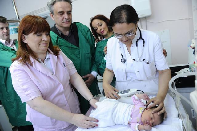 Prvi skrining - beba Danica odlično čuje