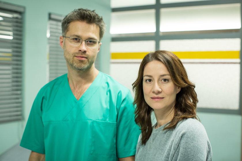 Maciej Zakościelny i Maja Ostaszewska