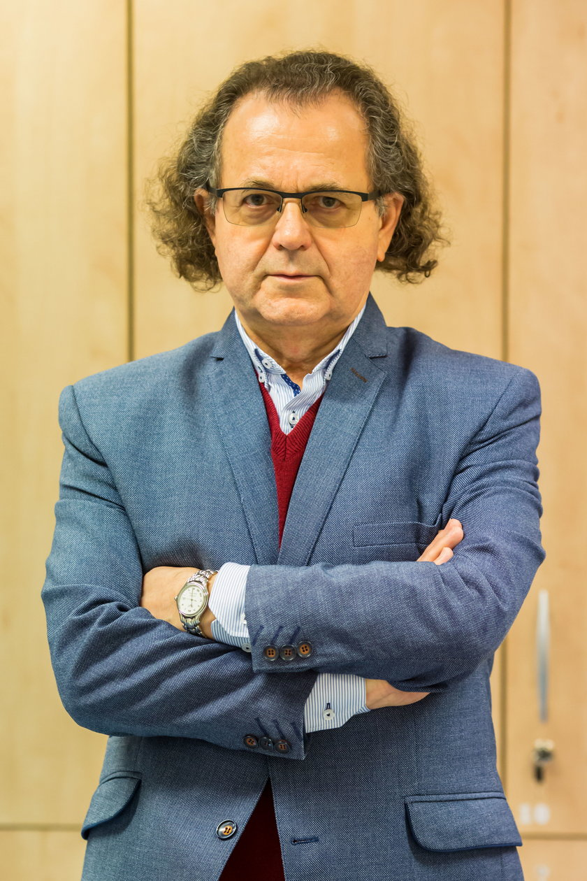Epidemiolog, dr n. med. Andrzej Trybusz
