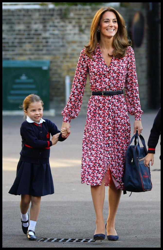 Kejt sa ćerkom Šarlot