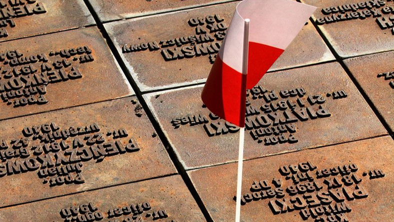Pomnik upamiętniający ofiary Katynia