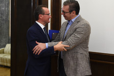 Vučić i Kirhbaum o bilateralnim odnosima, dijalogu Beograd-Priština i evropskom putu Srbije