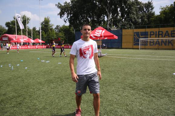 Dejan Joveljić na Sportskim igrama mladih