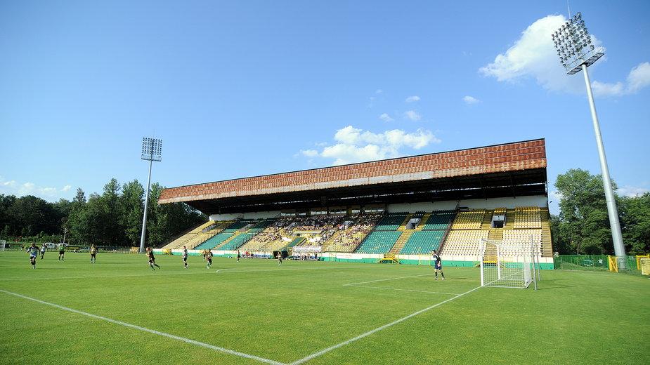 Obecny stadion GKS-u Katowice