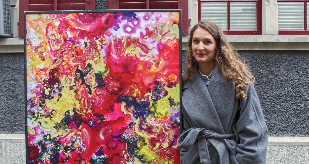 Künstlerin aus Lausanne: Maya Rochat