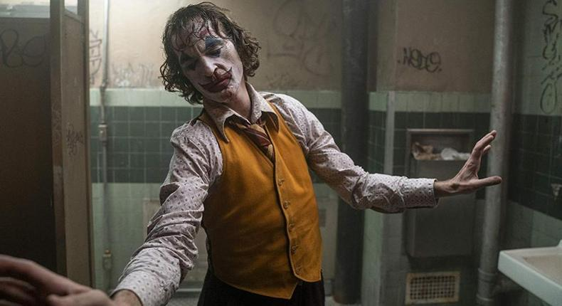 Joker by Warner Bros studios