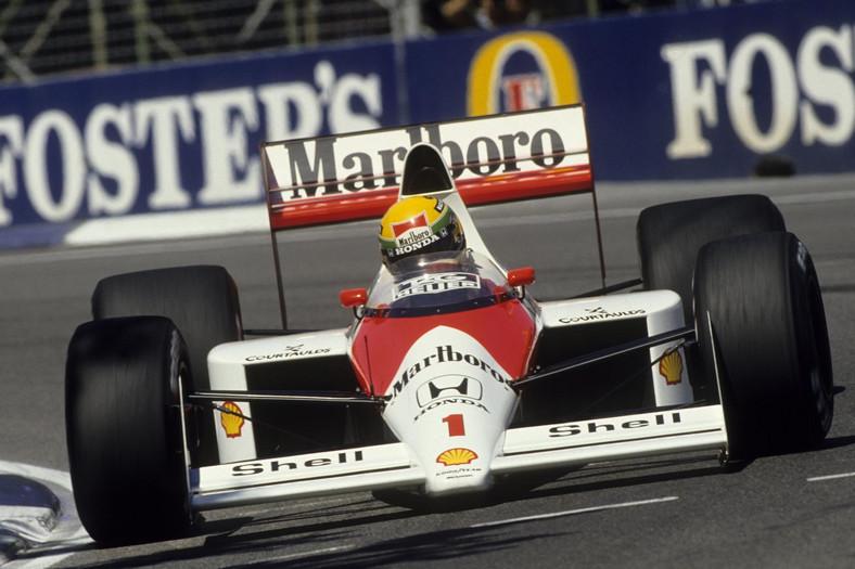 Ayrton Senna, Grand Prix Australii, rok 1989