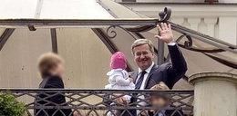 Prezydent Komorowski ochrzcił wnusię! FOTO