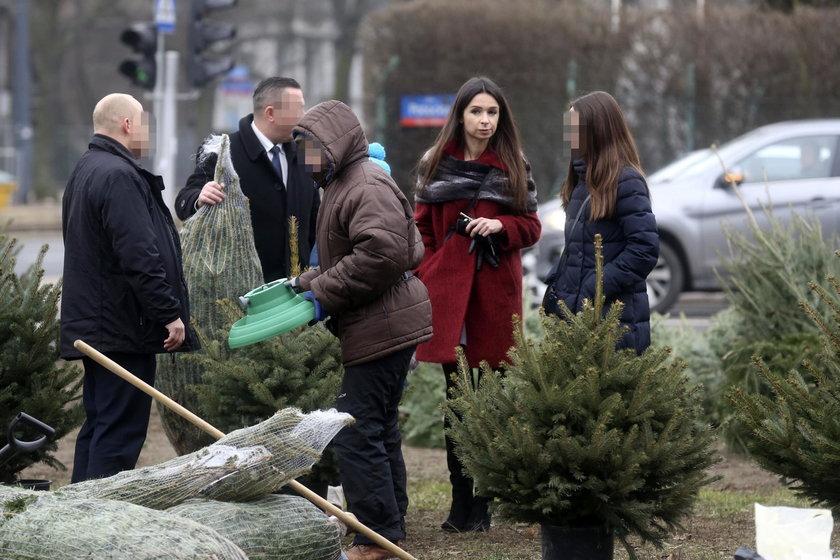 Marta Kaczyńska przyjechała na święta do wujka