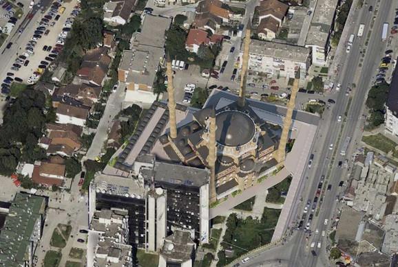Kada bude izgrađena, ovako će izgledati velika džamija