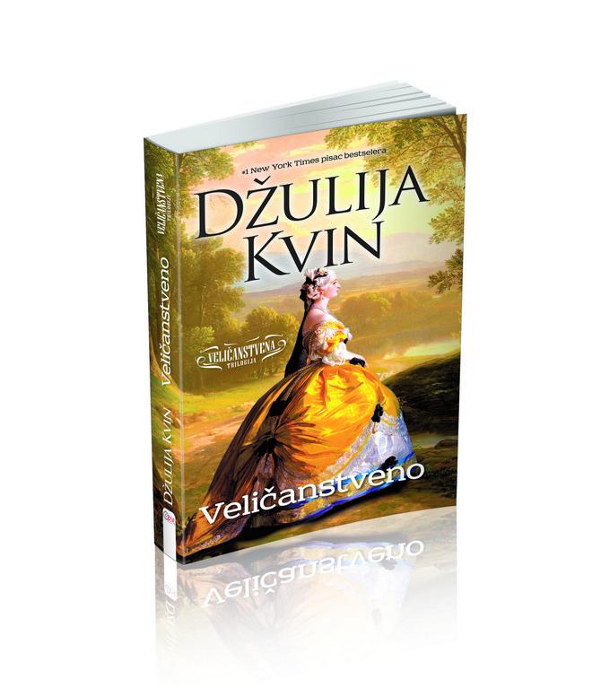 """""""Velicanstvno"""", prva trilogija Džulije Kvin - burne romanses engleskog dvora"""