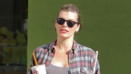 Milla Jovovich będzie miała drugą córkę