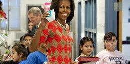 Dzieci do Michelle Obamy: twoje jedzenie smakuje jak wymiociny!