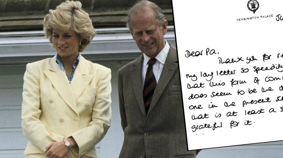 Księżna Diana, książę Filip