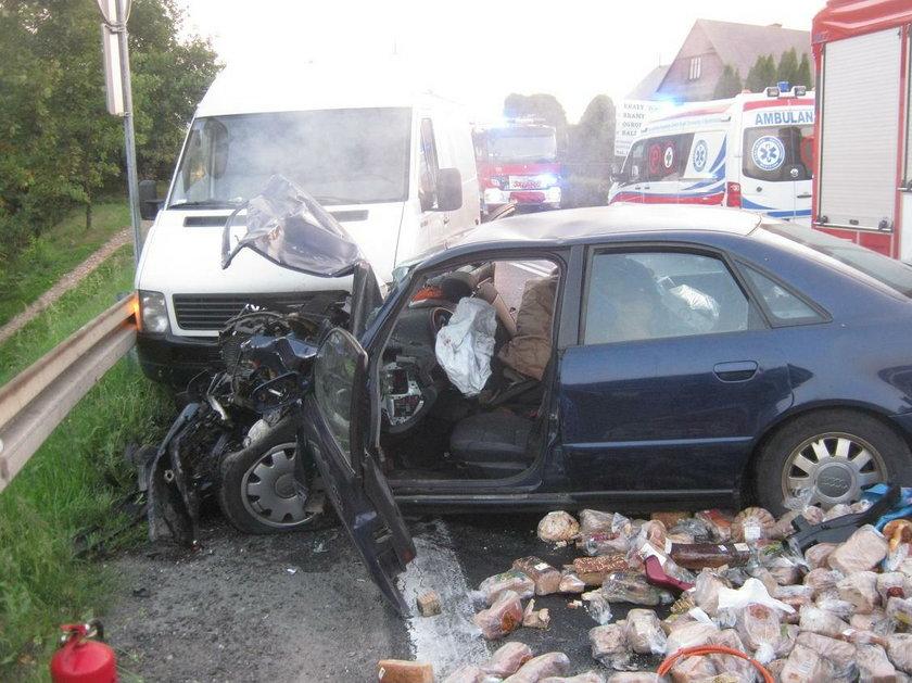 Śmiertelny wypadek w Tenczynie na Zakopiance