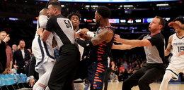 Awantura w lidze NBA. Koszykarze rzucili się na siebie. FILM