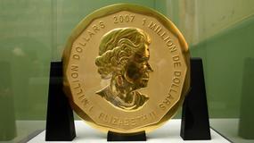Z muzeum w Berlinie skradziono 100-kilogramową złotą monetę