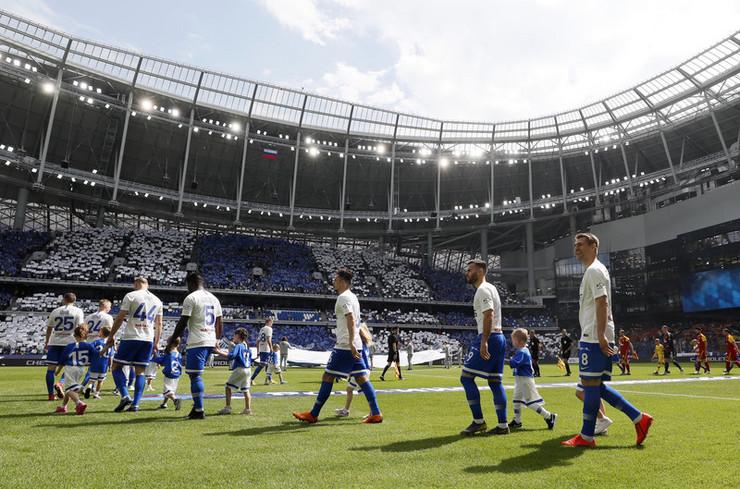 Fudbaleri Dinama iz Moskve