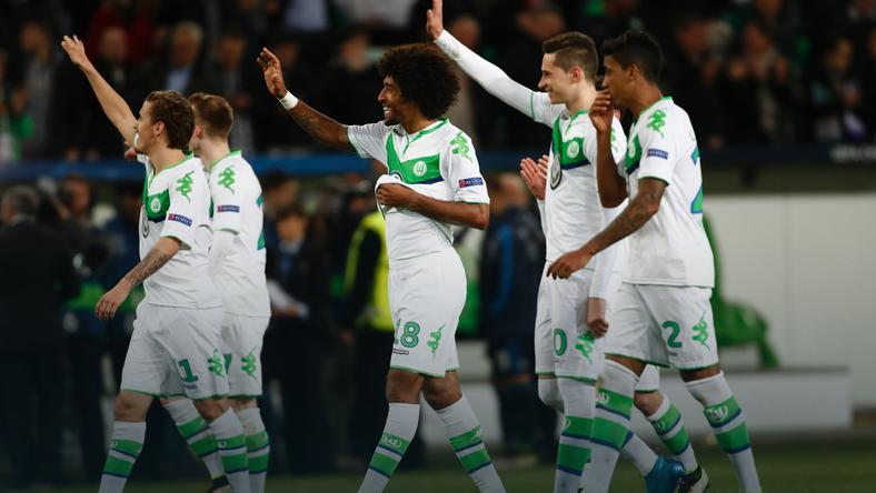 Jeszcze niedawno piłkarze Wolfsburga tak cieszyli się z pokonania Realu