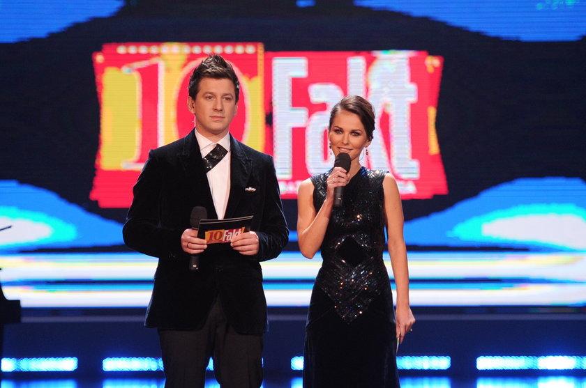 Paulina Sykut i Maciej Rock Gala Faktu