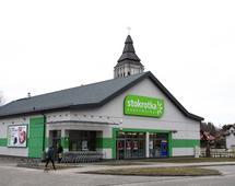 Sklep sieci Stokrotka w Olsztynie