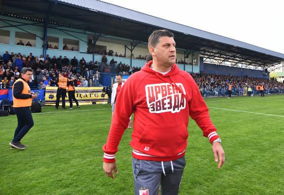 Trener crveno-belih Vladan Milojević