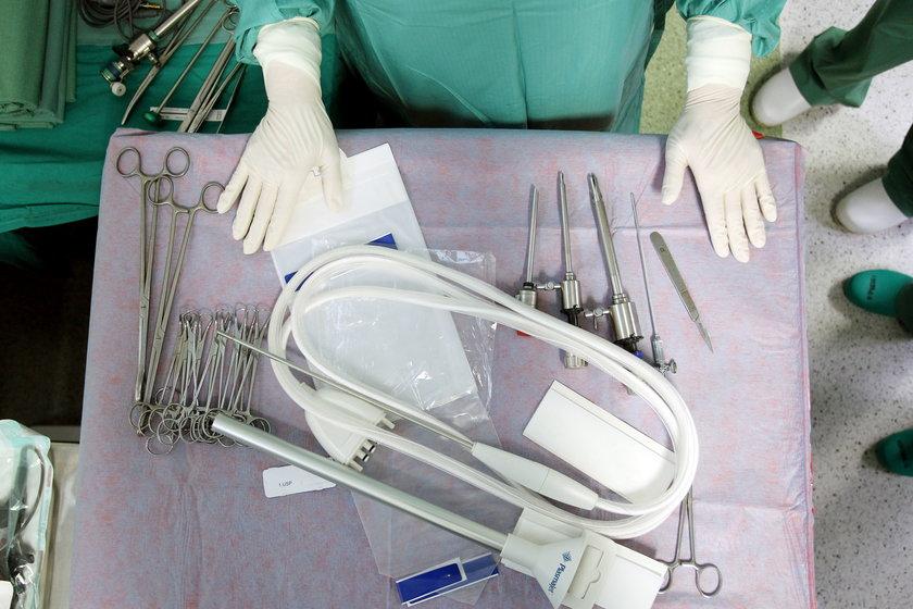 Tak wygląda nóż plazmowy użyty do operacji ginekologicznej w Zabrzu